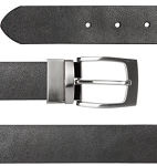 Mirage Black Leather Belt